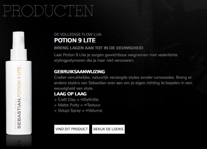 Sebastian potion 9 lite